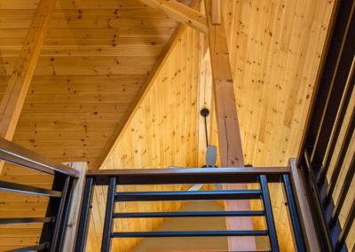Harding stair detail