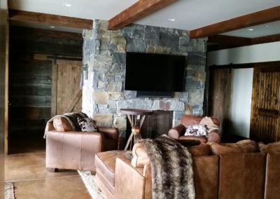 crosby basement fireplace