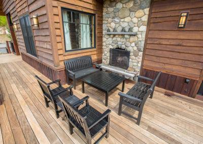 schenck deck fireplace